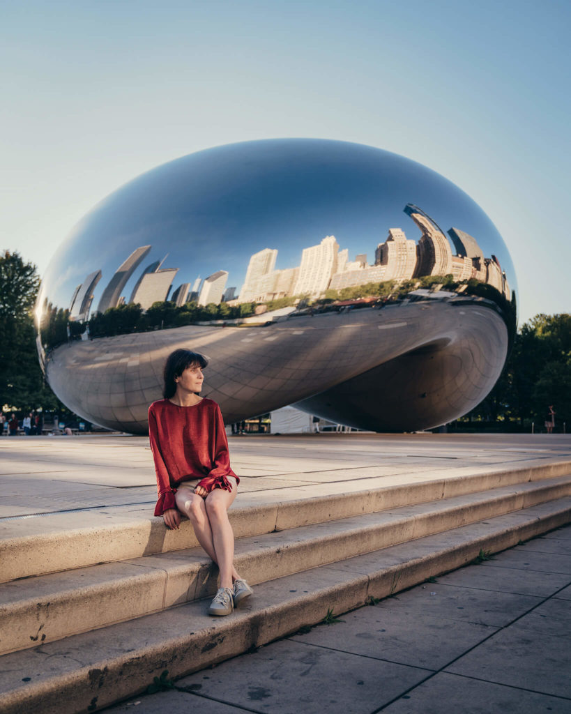 chicago-the-bean-cloudgate-skyline