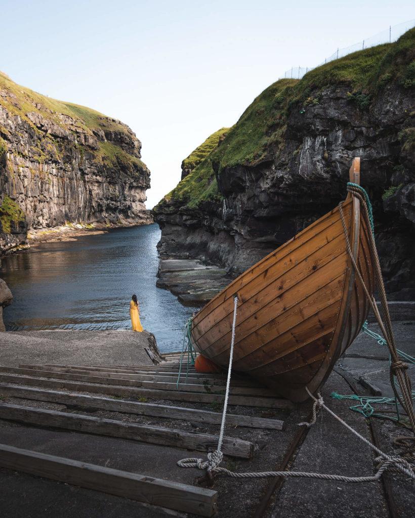 gjogv-eysturoy-boat-vikings-wikinger