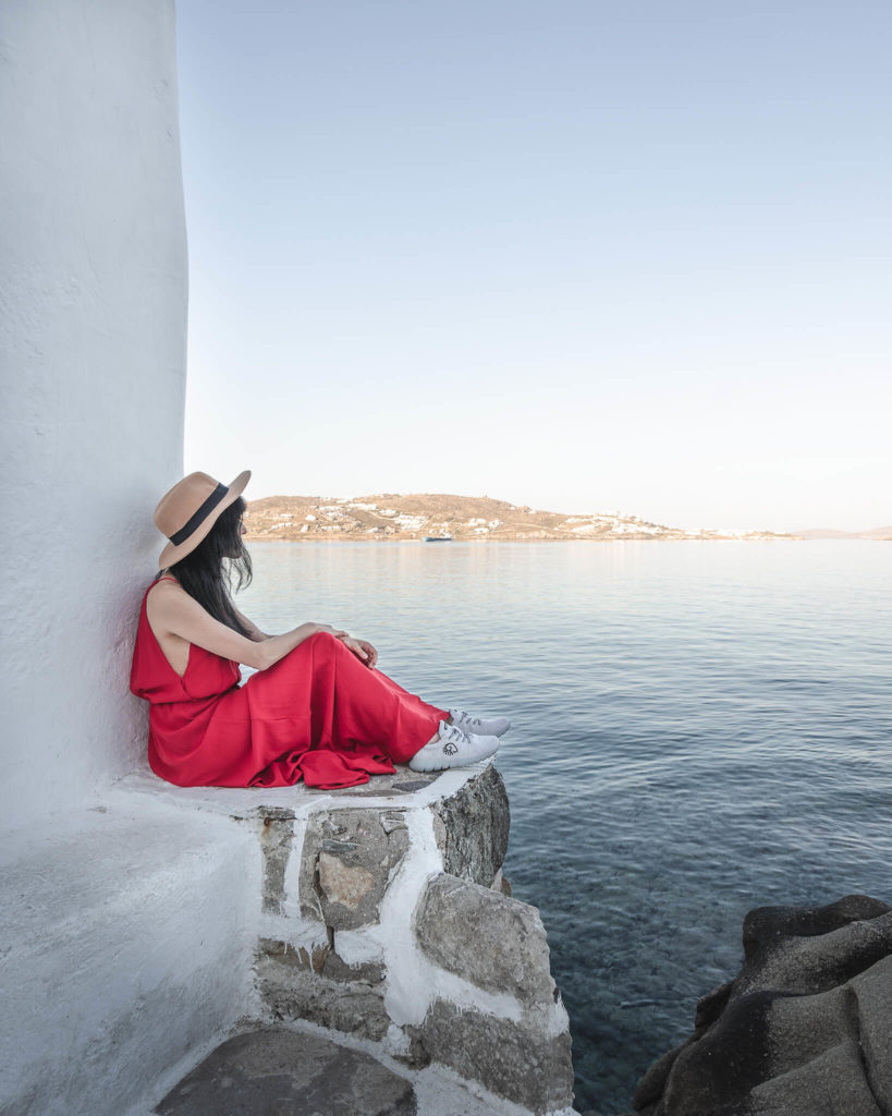 travel-reisende-fashion-red-dress-single-trip-island-hopping-enjoying-heaven-paradise