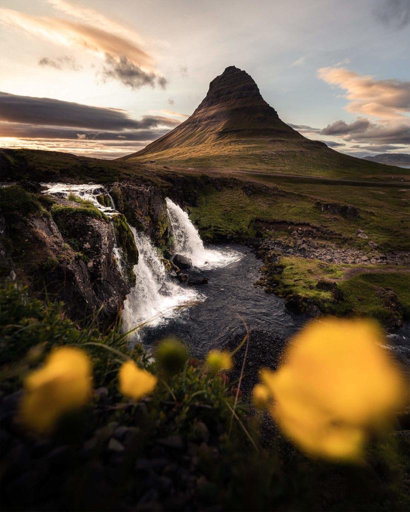 iceland-island-waterfalls-waterfall-kirkjufell