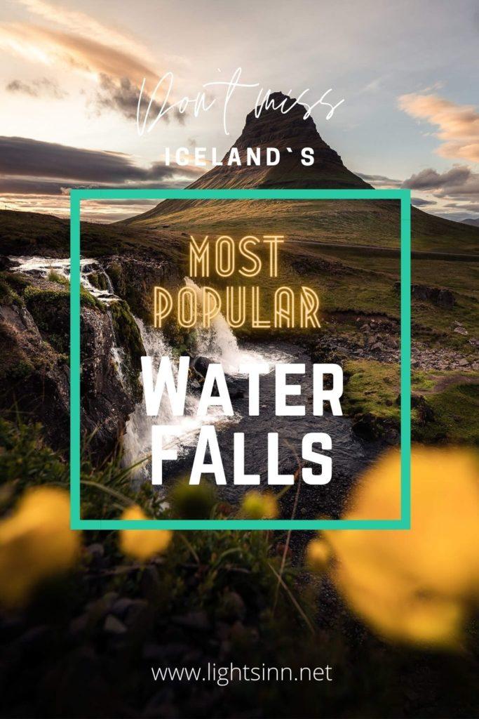 iceland-waterfalls-gullfoss-skogafoss-kirkjufellfoss
