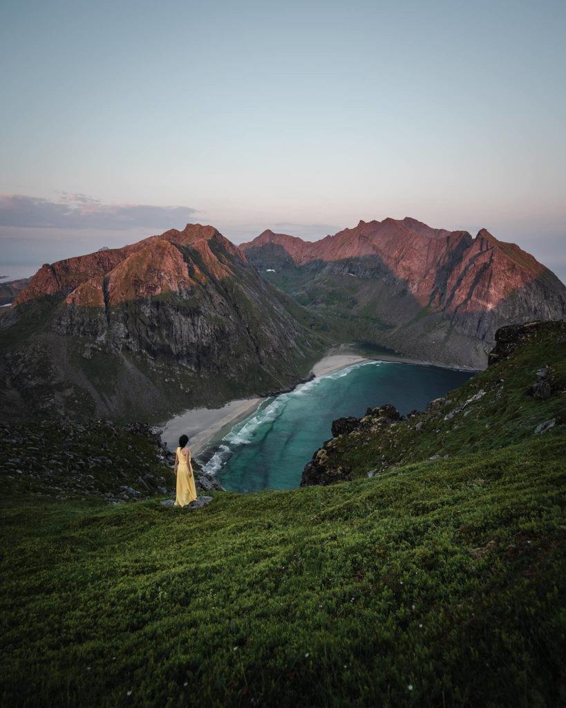 norwegen-norway-lofoten-leknes-mount-ryten