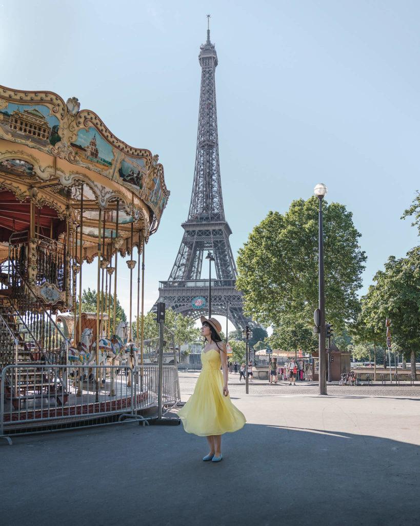 paris-francia-carrousel-carousel-eiffelturm